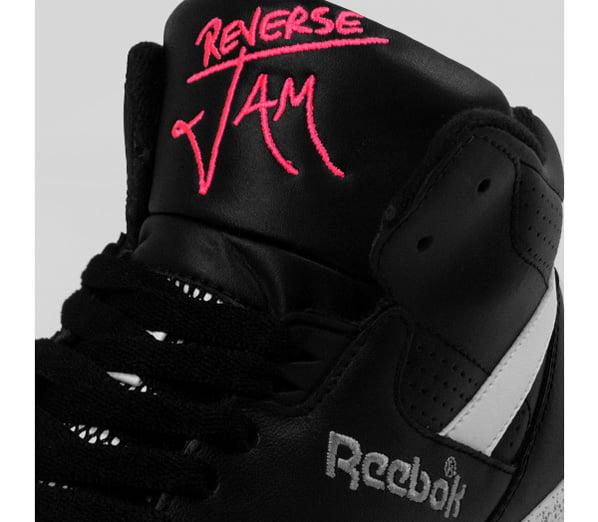 Reebok Reverse Jam Mid Black - White