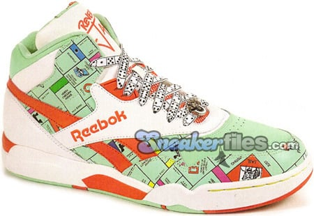 new concept cb323 a7d41 Reebok Reverse Jam Mid Monopoly | SneakerFiles