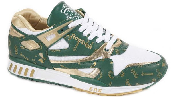 Reebok presents us with a couple pairs of St. Patrick's Day 2008...