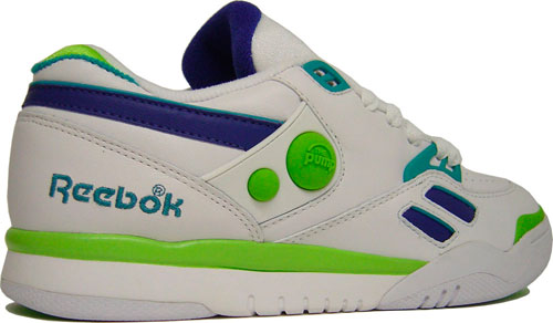 Reebok Pump Court Victory Dual Low White/Royal/Green at Purchaze