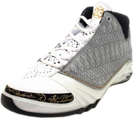 Air Jordan XX3 (23) White / Stealth Black / Metallic Gold