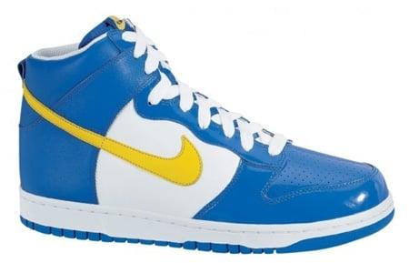 Nike Dunk High Euro Champs - Sweden  930e6be370
