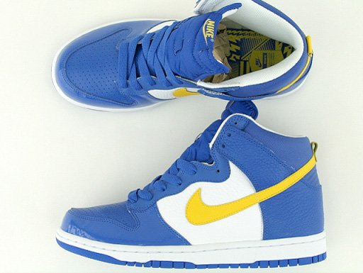 Nike Dunk High Euro Champs - Sweden Detailed Look  157ad0d980