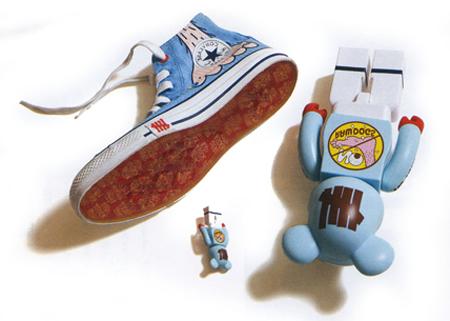 UNDFTD x Medicom Toy x Converse