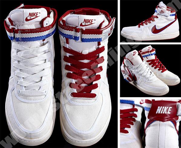 Nike Vintage Vandal High - Red/White/Blue