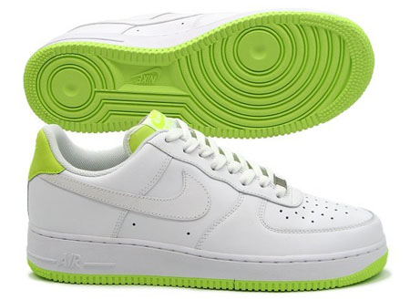 Nike Air Force 1 - White / Volt