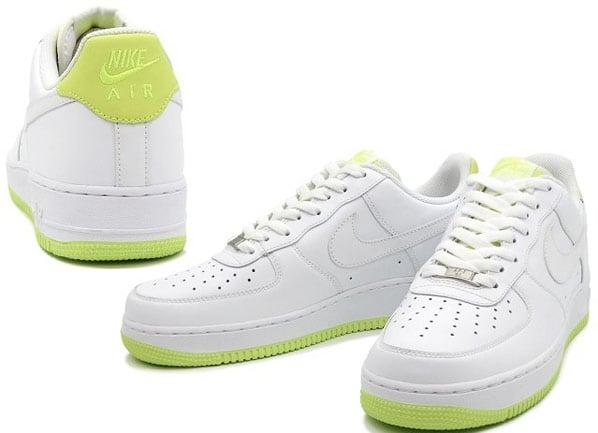 Nike Air Force 1 - White/Volt