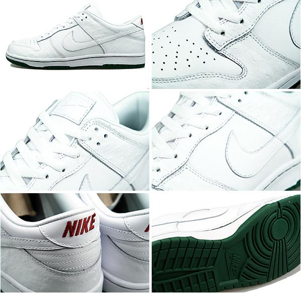 Nike Dunk Low Premium iD - White/Dark Forrest