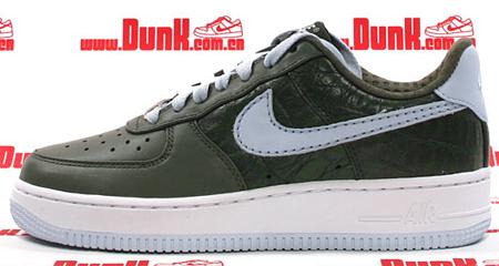 Nike WMNS Air Force 1 Premium - Urban Haze/Blue Ice