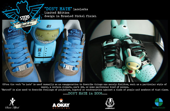 New Dont Hate Custom Lace Locks by St!zo from A.Okay