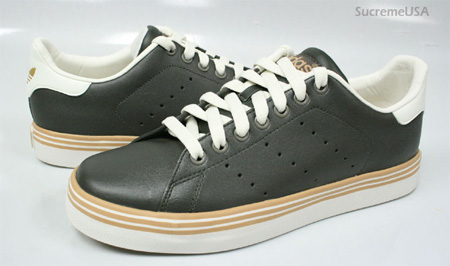 Adidas Stan Smith Vulcaniz - Green / Sand
