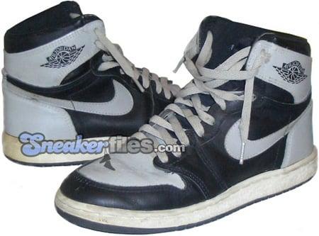 Air Jordan Original - OG 1 (I) Black / Grey