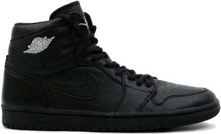 Air Jordan 1 (I) Retro Japan Black / Black - Metallic Silver