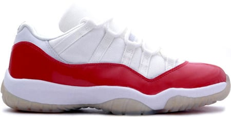 Air Jordan 11 (XI) Retro Low White / Varsity Red