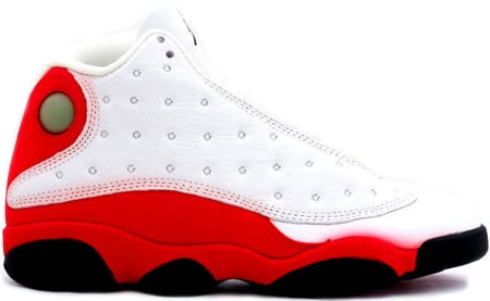 Nike Air Jordans- Air Jordan 13 (XIII) Original (OG)-White / Black-True Red-Pearl Grey