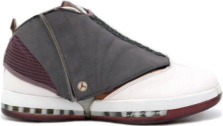 Air Jordan 16 (XVI) Original / OG Cherry Wood Whisper / Cherrywood - Light Graphite +