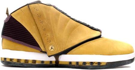 Air Jordan 16 (XVI) Original / OG Light Ginger / Dark Charcoal - White +