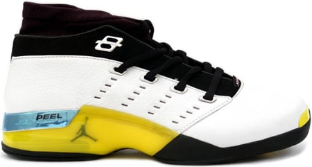 sneakers for cheap c94e5 fa53e ... spain air jordan 17 xvii original og low lightning all star white  lightning 84aaa 228fd