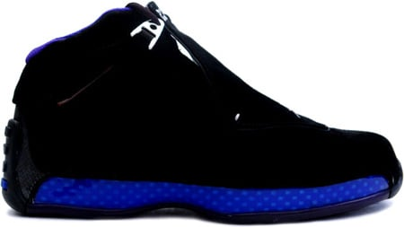 Air Jordan 18 (XVIII) Original / OG Black / Sport Royal