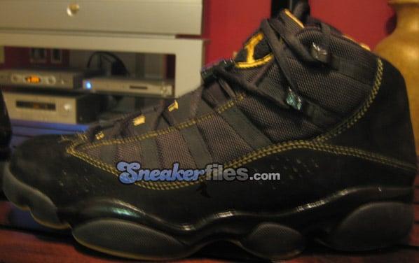 innovative design 9e26d 1ad19 Air Jordan 6IX (Six) Rings Black / Gold | SneakerFiles