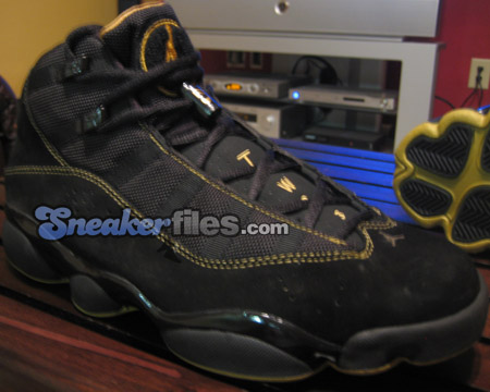 new styles 71762 7f6f5 Air Jordan 6IX (Six) Rings Black   Gold