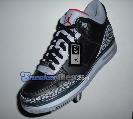 Air Jordan Force Fusion 3 (III) Black / Cement Grey First Look