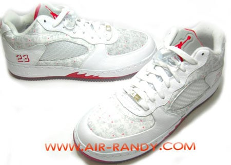 reputable site fb7e3 a7c90 hot sale Air Jordan Force Fusion 5 V Low White Varsity Red Is It The Shoes