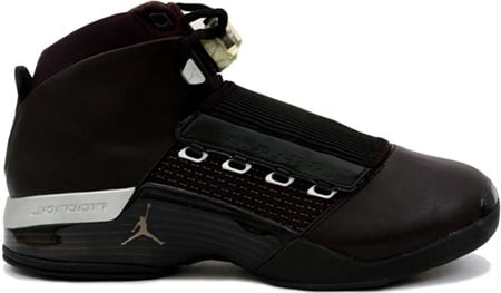 Air Jordan 17 (XVII) Original / OG Black / Metallic Silver