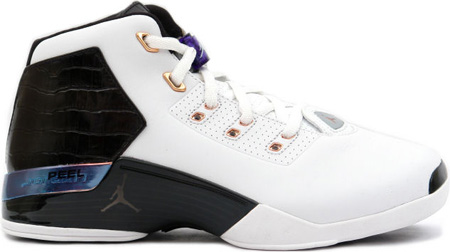 Air Jordan 17 (XVII) Original / OG Copper White/Black-Metallic Copper-Sport Royal +