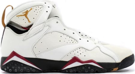 finest selection f1fb6 b20d1 Air Jordan Original – OG 7 (VII) Cardinal White   Black – Cardinal Red