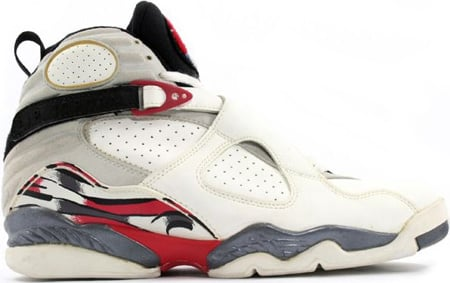 Air Jordan Original / OG 8 (VIII) Bugs Bunny White / Black - True Red