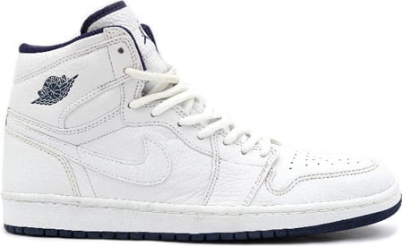 Air Jordan 1 (I) Retro Japan White / White - Midnight Navy