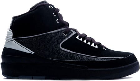 Air Jordan 2 (II) Retro Black / Chrome