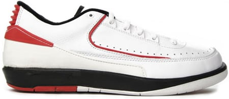 Air Jordan 2 (II) 1994 Retro Low White - Red - Black