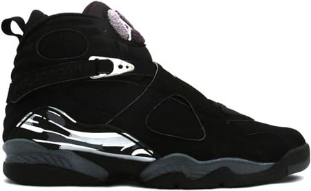 Air Jordan 8 (VIII) Retro Black / Chrome