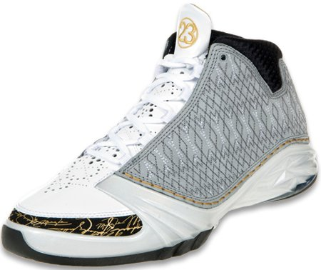 Release Date Reminder: Air Jordan XX3 (23) White / Stealth / Black / Gold
