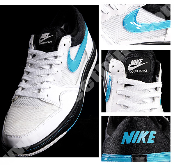 Nike Court Force Low - Air Max 93 Inspired