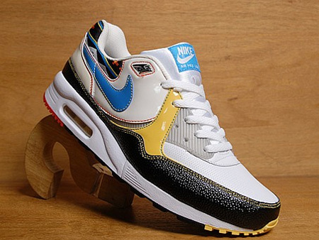 Nike Air Max Light - Sail /Vivid Blue / Black / Sulphur Yellow