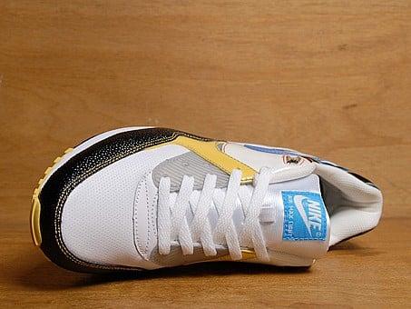 Nike Air Max Light - Sail /Vivid Blue / Black / Sulphur Yellow