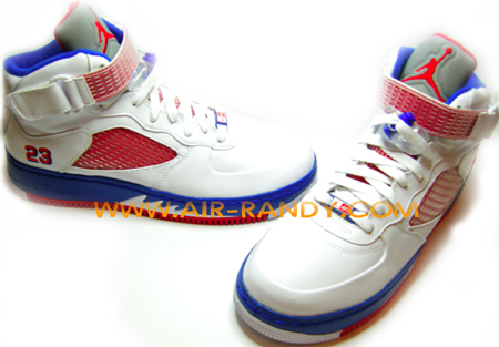 e2023415ad39 Air Jordan Force Fusion 5 (V) White   Varsity Red - Blue Ribbon ...