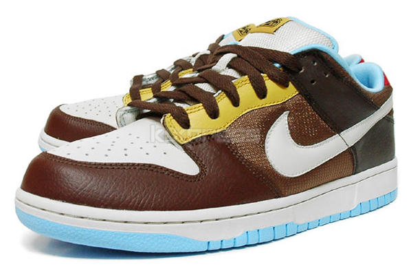 Nike 6.0 Dunk Low - Medium Brown / Light Bone / Light Chocolate