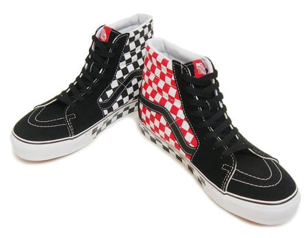 Vans Sk8-Hi - Checkerboard
