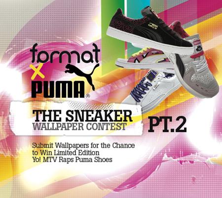 Format x Puma x Yo! MTV Raps Wallpaper Contest