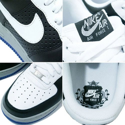Nike Air Force 1 - White / Medium Grey / Black
