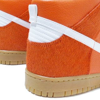 Nike Dunk High Premium - Orange Horse Hair