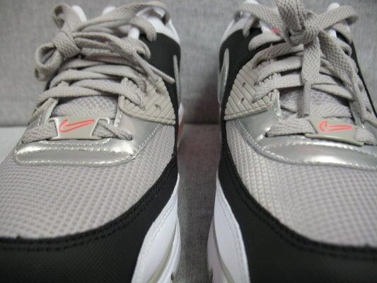 Nike Air Max Wright - White / Granite / Black / Hot Lava