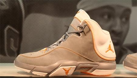 Air Jordan Melo M4 Stealth / Orange Peel PE