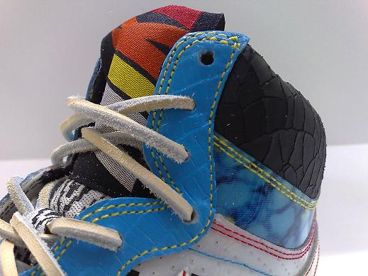 Nike Court Force High Premium - Native