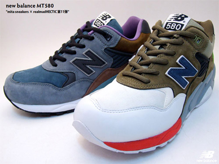 best sneakers fe778 a8c1d New Balance MT580 x Mita Sneakers x realmad HECTIC‏