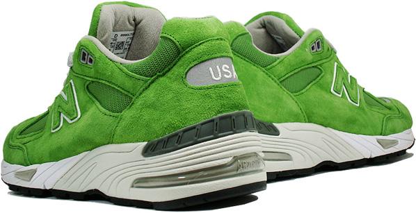 brand new 617e8 4a4a2 green 990 new balance